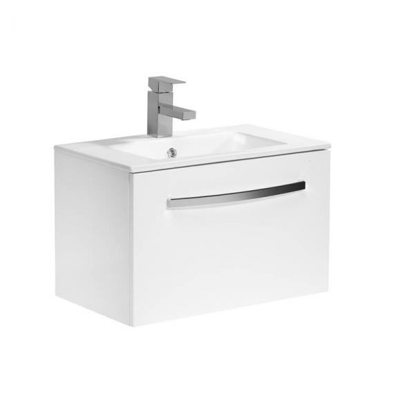 Tavistock Swift Gloss White 600mm Wall Mounted Unit & Basin - Image 3