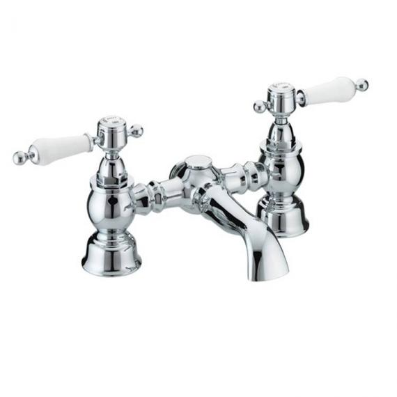 Heritage Glastonbury Chrome Bath Filler