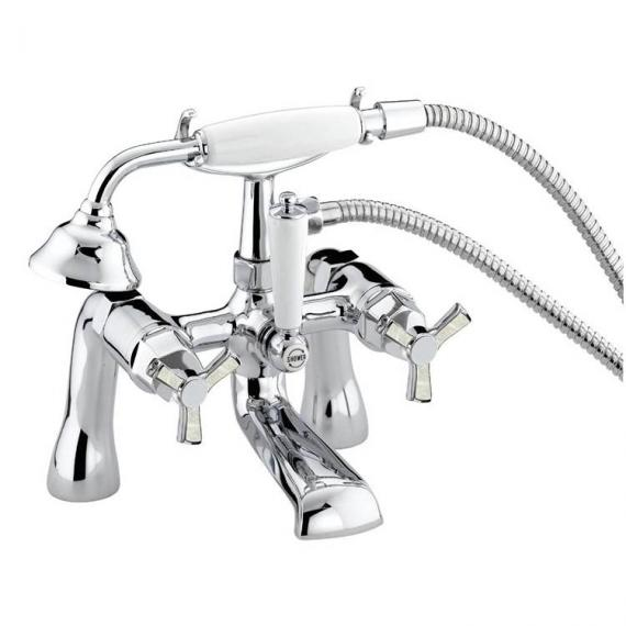 Heritage Gracechurch Mother Of Pearl Bath Shower Mixer