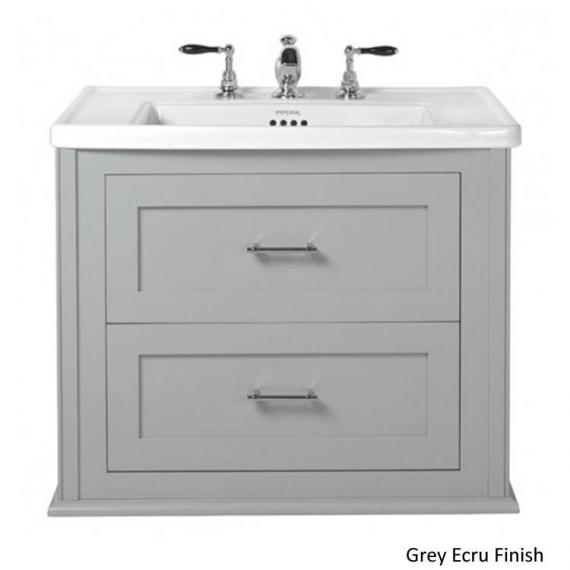 Imperial Radcliffe Thurlestone Grey Wall Hung Vanity Unit