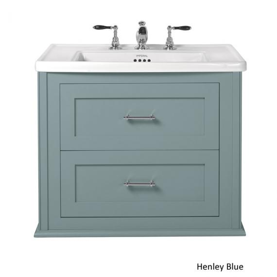 Imperial Radcliffe Thurlestone Henley Blue Wall Hung Vanity Unit