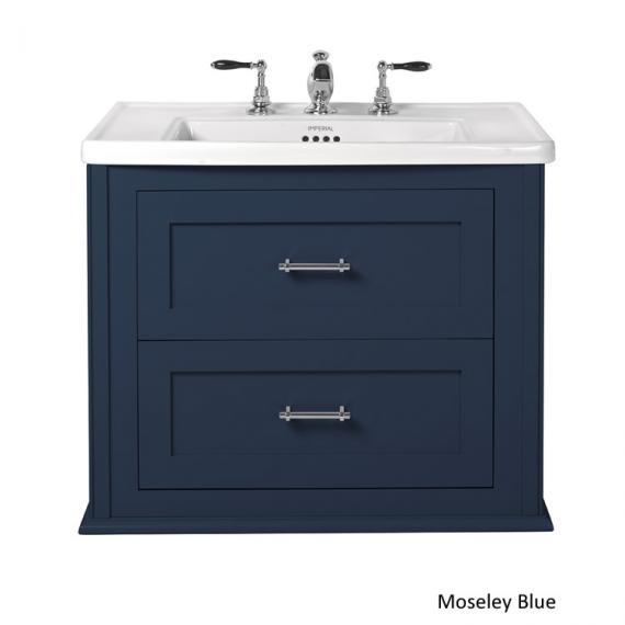 Imperial Radcliffe Thurlestone Moseley Blue Wall Hung Vanity Unit