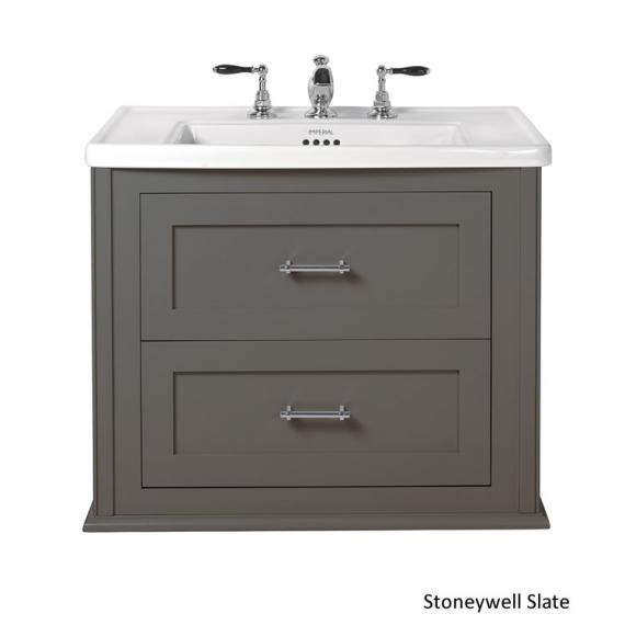 Imperial Radcliffe Thurlestone Slate Wall Hung Vanity Unit