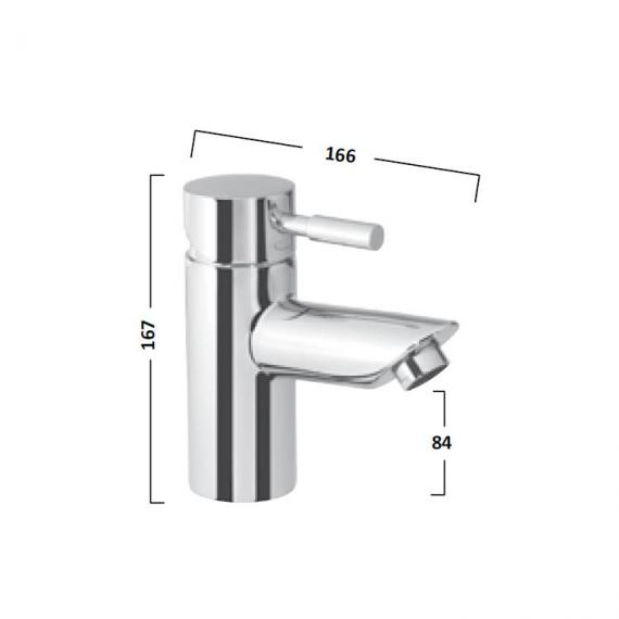 Tavistock Kinetic Mono Bath Mixer - Spec