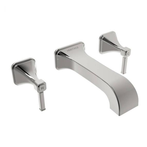 Heritage Somersby Wall Mounted Bath Filler