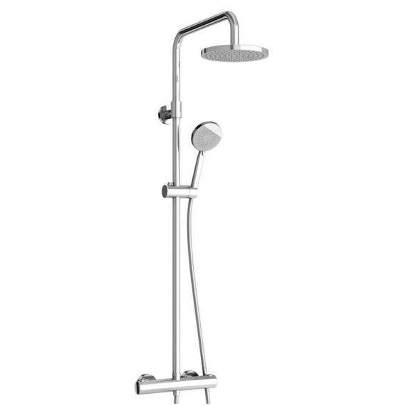 Britton Round Exposed Thermostatic Shower Valve Kit
