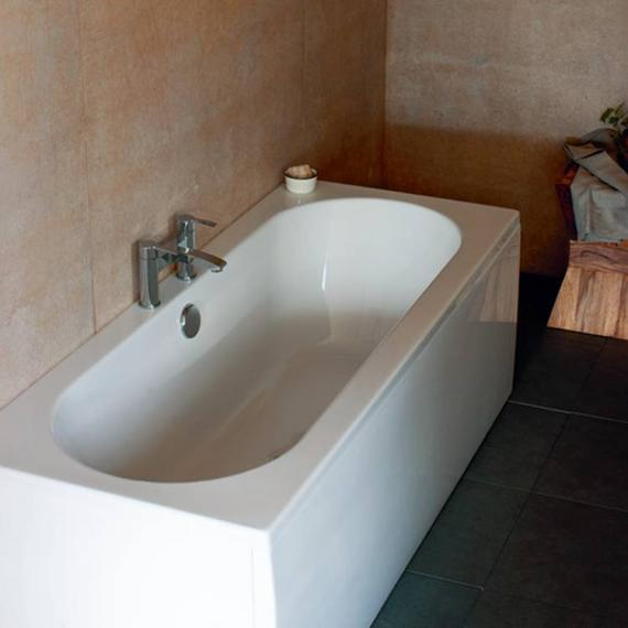 Britton Cleargreen Verde 1700 x 750mm Double Ended Bath