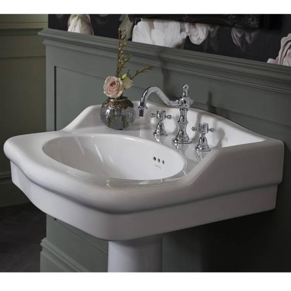 Heritage Victoria Standard Basin With Pedestal