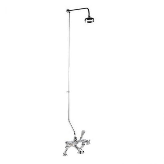 BC Designs Victrion Rigid Riser With Bath Shower Mixer