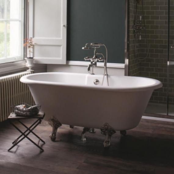 Arcade Vigo Natural Stone Freestanding Bath & Nickel Feet