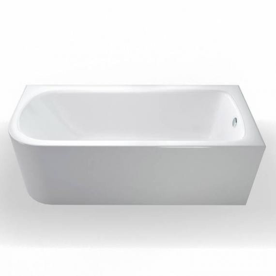 Britton Cleargreen Viride 1700mm Offset Bath - Right Hand