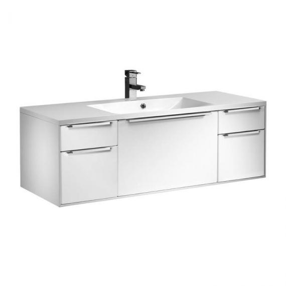 Roper Rhodes Vista Gloss White 1200mm Wall Mounted Unit & Basin