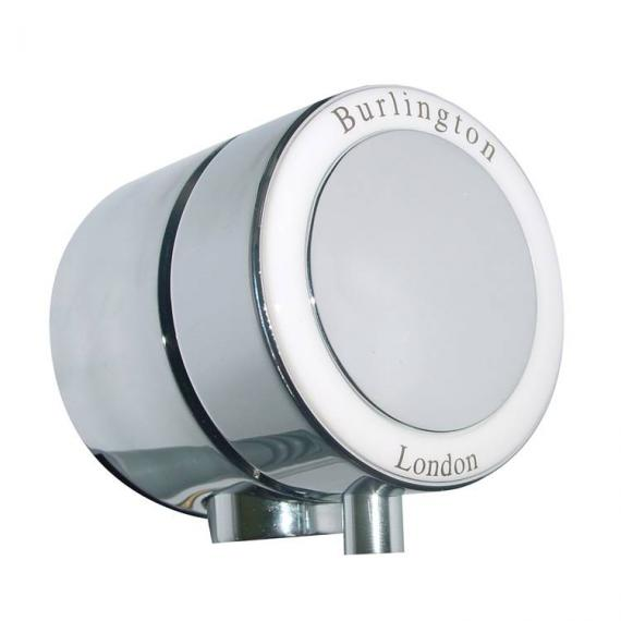 Burlington Single Ended Bath Overflow Filler