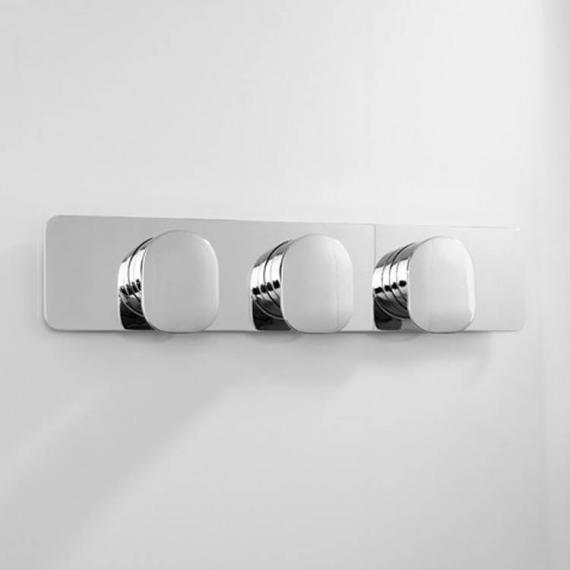 Crosswater Kelly Hoppen Zero 2 Thermostatic Landscape Shower Valve With 2 Way Diverter