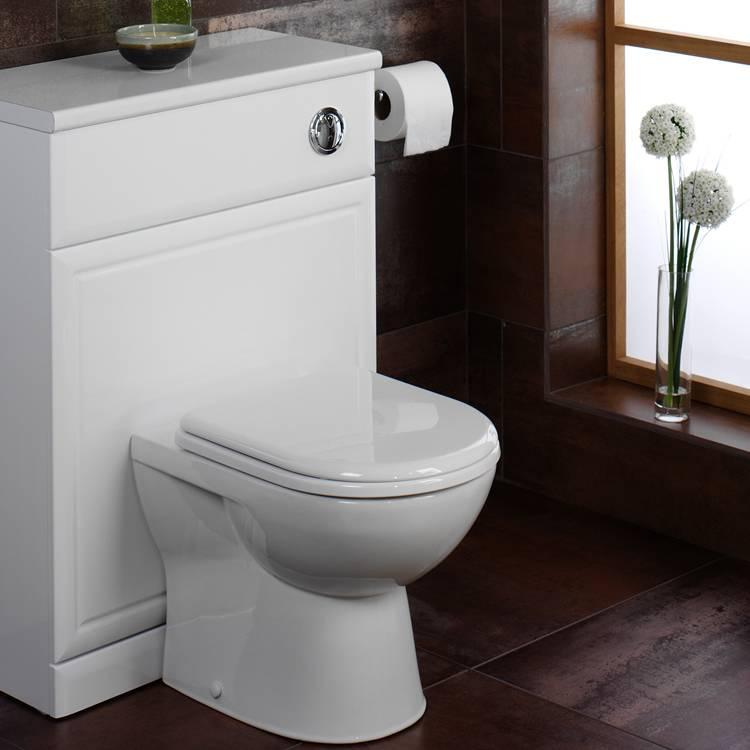 Tavistock micra short projection back to wall toilet for Best bathrooms 4 u