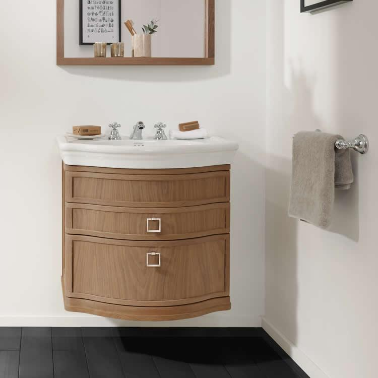 Imperial firenze verona large wall hung vanity unit for Best bathrooms 4 u