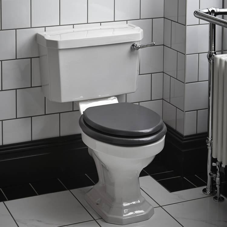 Heritage granley deco close coupled wc cistern victorian bathrooms 4 u - Kleur wc deco ...