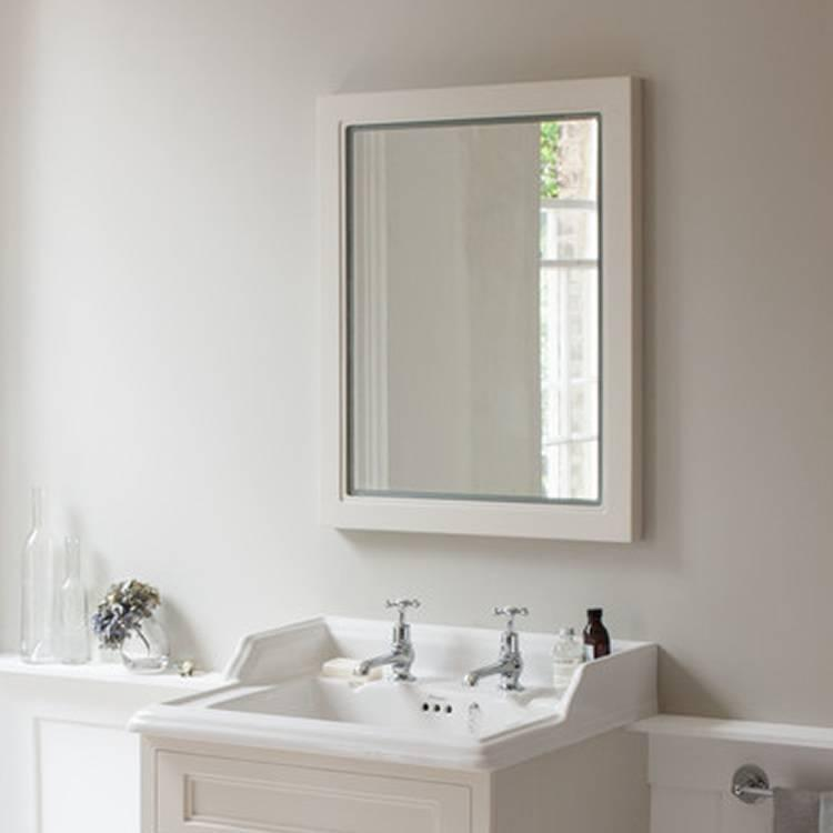burlington bathroom mirror burlington sand framed mirror with led illumination 12208