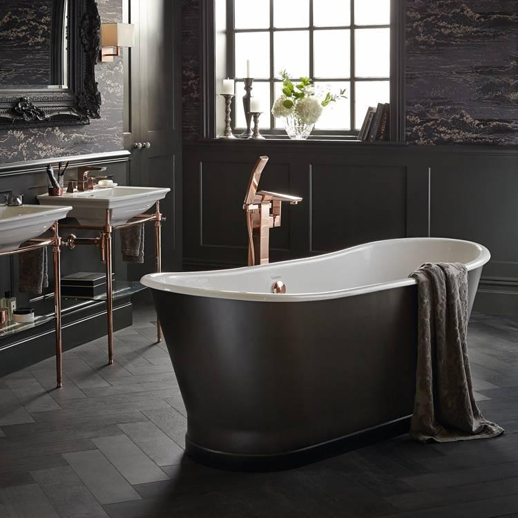 Heritage madeira cast iron double ended freestanding bath for Best bathrooms 4 u