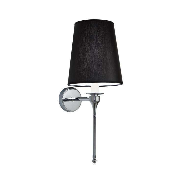 Imperial Pendant Light with Black Chintz Shade | Bathroom ...