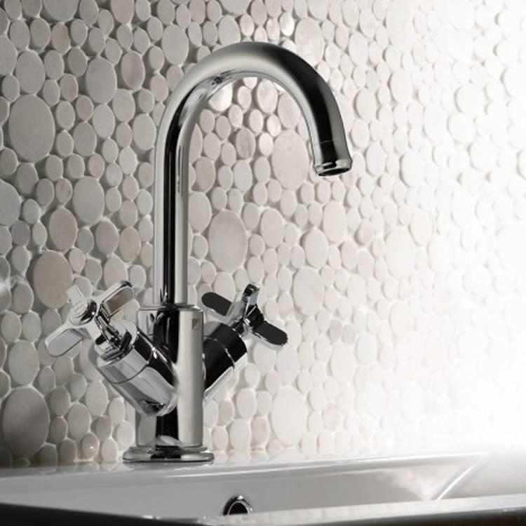 Roper rhodes wessex basin mixer with click waste for Best bathrooms 4 u