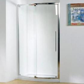 Kudos Original Bowed Sliding Shower Door & Tray
