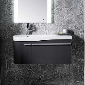 Roper Rhodes Cirrus 900mm Gloss Clay Wall Mounted Vanity Unit & Basin