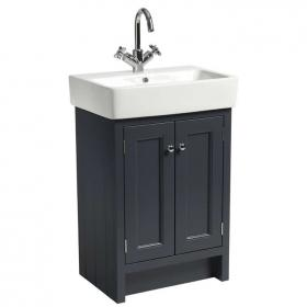 Roper Rhodes Hampton Slate Grey 600mm Vanity Unit & Basin
