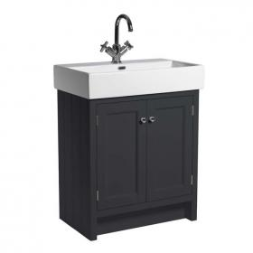 Roper Rhodes Hampton Slate Grey 700mm Vanity Unit & Basin