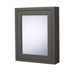 Roper Rhodes Hampton 565mm Pewter Mirror Cabinet