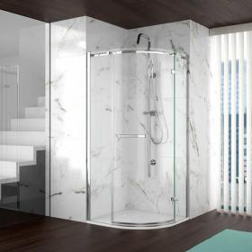 Merlyn 8 Series Frameless 1 Door Quadrant Shower Enclosure