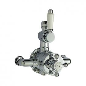 Hudson Reed Traditional Twin Exposed Thermostatic Shower Valve