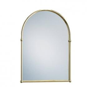 Heritage Vintage Gold Arched Mirror