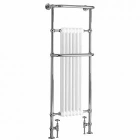 Heritage Cabot Chrome Heated Towel Rail
