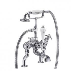 Burlington Anglesey Angled Deck Mounted Bath Shower Mixer