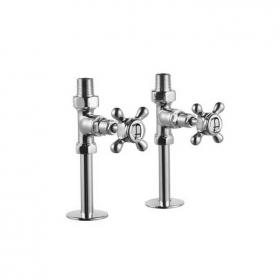 Arcade Chrome Straight Radiator Valves