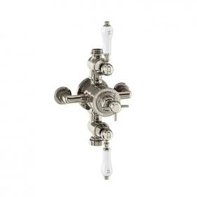 Arcade Avon Nickel Exposed Thermostatic Shower Valve