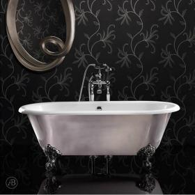 Ashton and Bentley Corinthian Metallic Freestanding Bath