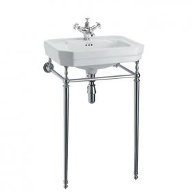 Burlington Victorian Medium 56cm Basin With Wash Stand