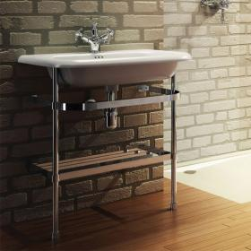 Clearwater Natural Stone Large Traditional Basin With Wash Stand