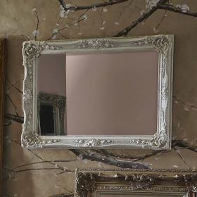 Heritage Bayswater Ivory Mirror