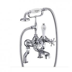 Burlington Birkenhead Deck Mounted Bath Shower Mixer