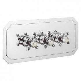Crosswater Belgravia Crosshead 3001 Landscape Shower Valve With 3 Way Diverter