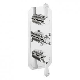 Crosswater Belgravia Lever 3000 Slimline Shower Valve With 3 Way Diverter