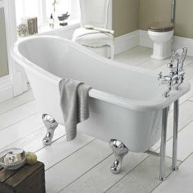 Old London Brockley 1700mm Single Ended Freestanding Bath & Feet