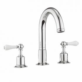 Crosswater Belgravia Lever Bath 3 Hole Set