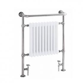 Heritage Clifton Chrome Heated Towel Rail