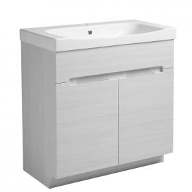 Roper Rhodes Diverge Alpine Elm 800mm Freestanding Unit & Basin