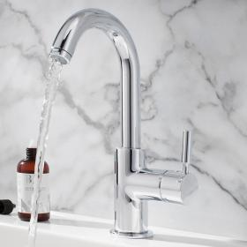 Crosswater Design Basin Side Lever Monobloc