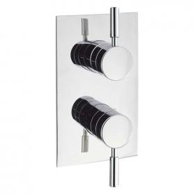 Elegante Thermostatic Shower Valve With Single Outlet